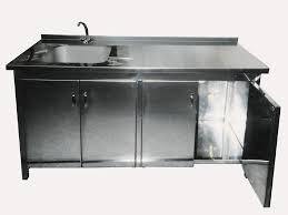 White Kitchen Base Cabinets Stainless Steel Sink Cabinet Cabinet With Sink Ptcs 715