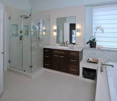 bathroom modern master bathrooms with black tile wall and
