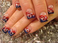 patriotic nails nail designs pinterest nail nail makeup and