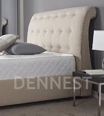 Chesterfield Sleigh Bed Upholstered Beds Handmade In The Uk 2 Dennest