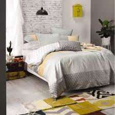 mod by linen house emery quilt cover set