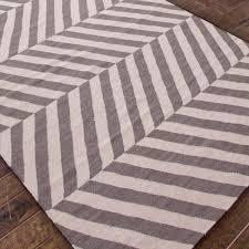 herringbone dhurrie rug shades of light