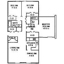 three bedroom floor plans 3 bedroom apartment typical floor plan quail creek apartments