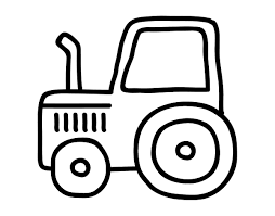 tractor coloring pages ngbasic