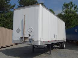 atlanta 28 u0027 semi trailer for sale atlanta used shipping
