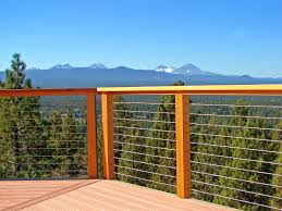 bedroom best elegant deck railing cable for property ideas