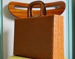 60 Piece Vanity Case Vintage Luggage U0026 Travel Etsy