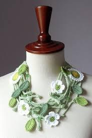leaf pattern necklace crochet patterns necklaces free crochet patterns 1 crochet