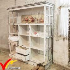 White Shabby Chic Bookcase China Shabby Chic Farmhouse Vintage Handmade White Wooden Bookcase