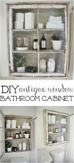 vintage bathroom storage ideas best 25 diy bathroom cabinets ideas on bathroom