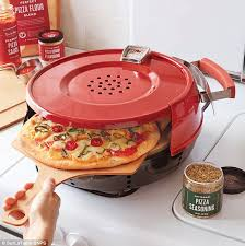 table top pizza oven stovetop pizzeria pronto oven promises to cook a gourmet meal in