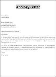apology letter template free printable word templates
