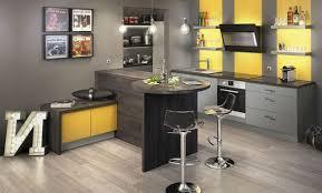cuisine jaune et grise cuisine jaune moutarde affordable cuisine jaune moutarde with
