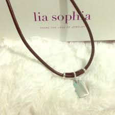 name tag necklace 75 lia jewelry lia silver name tag necklace