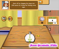 jeux pour faire la cuisine jeux de cuisine