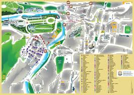 Lourdes France Map by The Sanctuary Unitalsi Lourdes