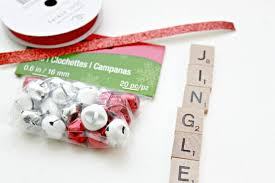 jingle bells scrabble ornament day 9 of 12 days of