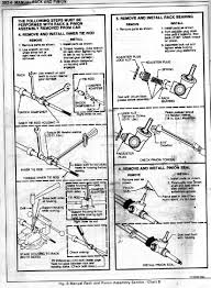 inner and outer tie rods how to remove and install pennock u0027s