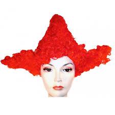 blue wig spirit halloween clown wigs clown wigs