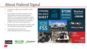 nyse thanksgiving hours form 8 k federal signal corp de for may 31