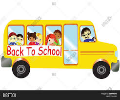 cartoon car back back bus vector vector u0026 photo bigstock