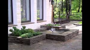 small rectangular garden design youtube
