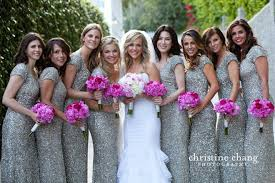 silver wedding dresses for brides purple and silver bridesmaid dresses