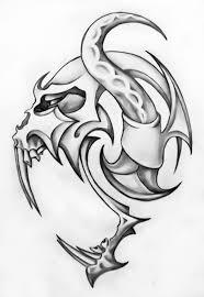 Tatoo Design - hd deer skull design