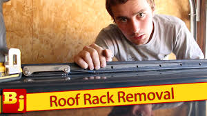 nissan armada 2017 roof rack how to remove a factory roof rack youtube