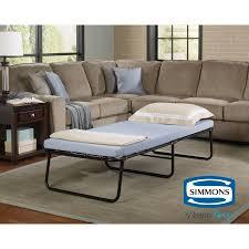 simmons antique memory foam sofa simmons beautysleep folding foldaway extra portable guest bed cot