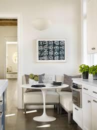 modern breakfast nook modern kitchen with european cabinets