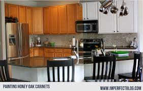 kitchen with light oak cabinets painting oak grain cabinets
