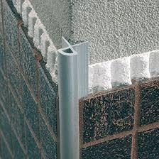 aluminum edge trim for tiles outside corner mosaictec rjm