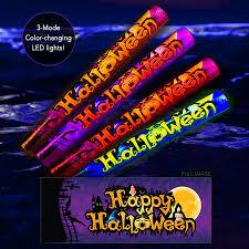 led halloween foam sticks light sticks light up foam sticks
