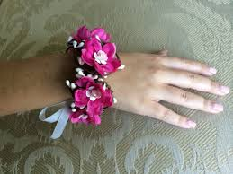wrist corsage for prom pink wrist corsage prom corsage prom 2014 wedding corsage