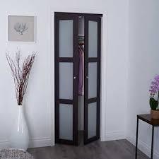 tempered glass closet doors renin style tempered glass pivot closet door