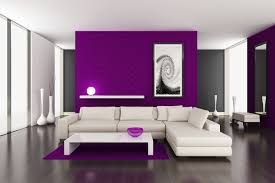 interior entrancing purple woman bedroom decoration using furry