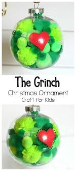 absolutely adorable grinch ornament craft