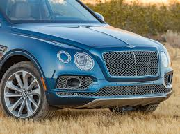 bentley blue 2017 bentley bentayga first review kelley blue book