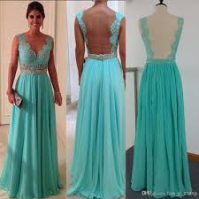 best places to buy homecoming dresses 2014 cheap prom dresses green chiffon and sheer back with