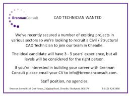 Cad Technician Brennan Consult Linkedin