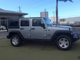 jeep wrangler hawaii jeep wrangler 4 door in hawaii for sale used cars on buysellsearch