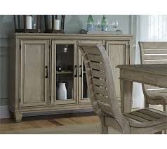 Buffet Glass Doors by Liberty Furniture 573 Buffet With Glass Doors Coconis Furniture