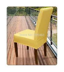 yellow chair covers 100pcs lycra surefit spandex dining chair cover cheap