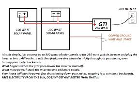 grid tie solar wiring diagram ideas electrical circuit