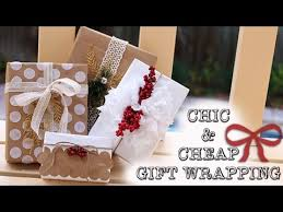 cheap gift wrap diy simple cheap gift wrapping ideas