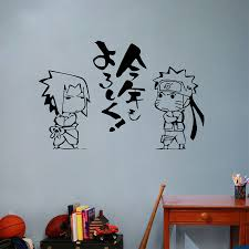popular naruto wall stickers buy cheap naruto wall stickers lots naruto wall stickers