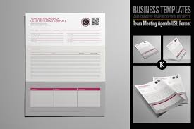 Pages Meeting Agenda Template by Team Meeting Agenda Usl Format Templates Creative Market