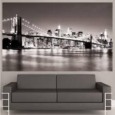 wall art designs popular wall art new york city from best artist bridge beautiful wall art new york city popular decal mural modern cool grey sofa chair buildings