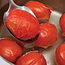cuisine faire blanchir comment enlever la peau et les pépins des tomates en é
